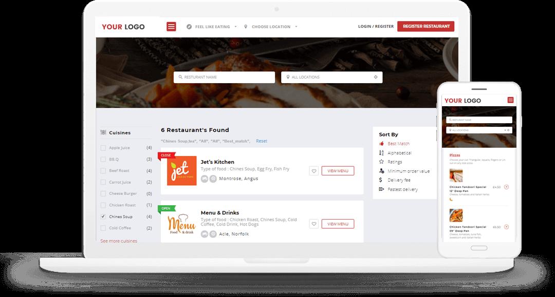 on-demand restaurant mobile app