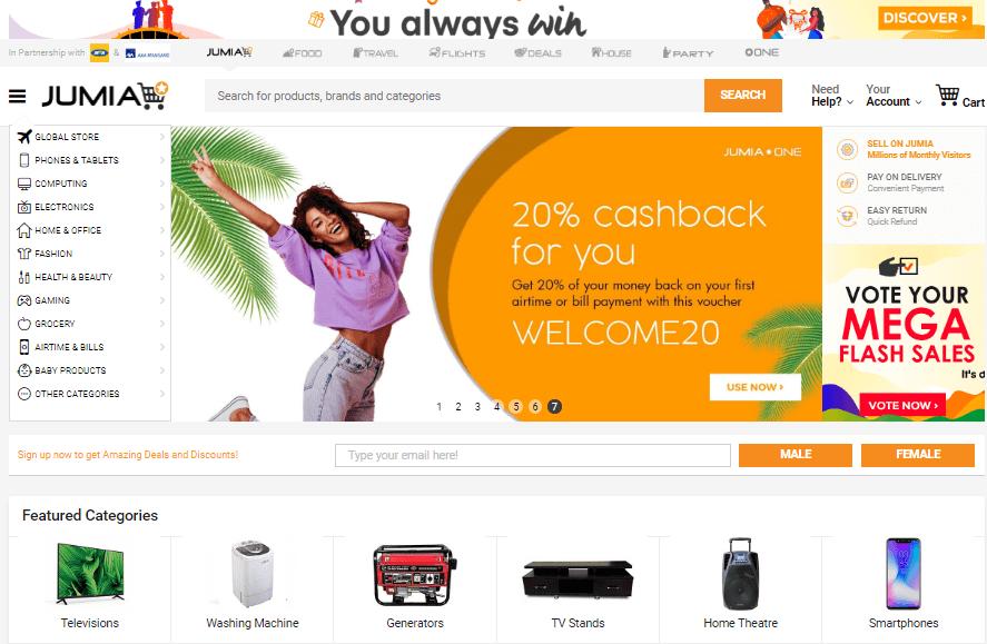 Jumia-Marketplace