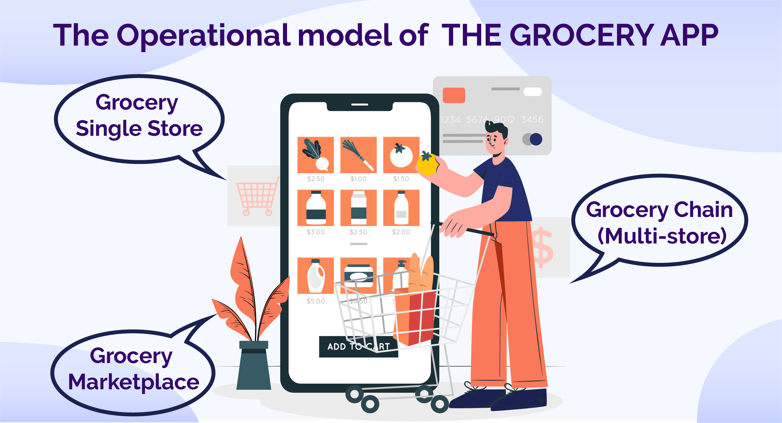 Grocery App Delivery Solution